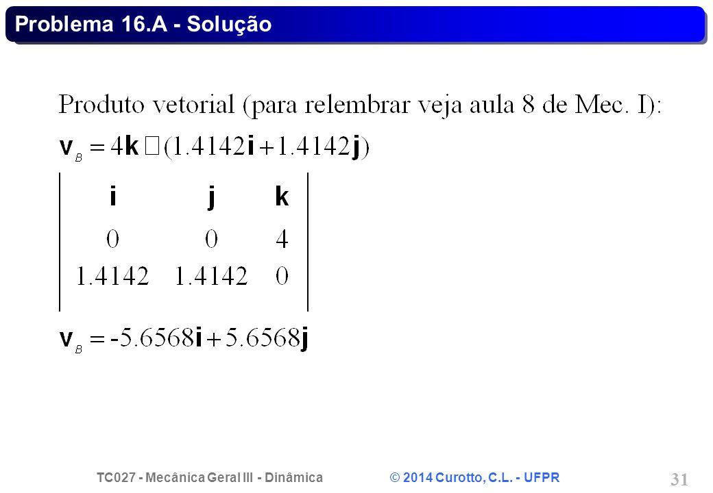 Problema 16.A - Solução
