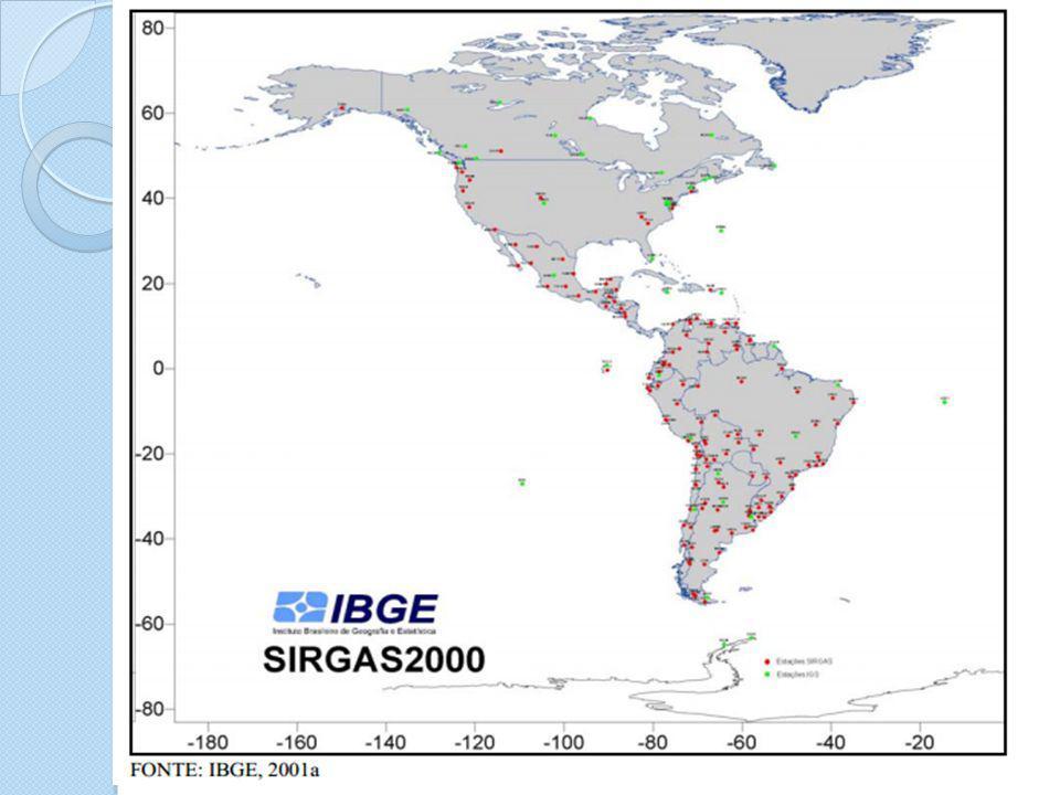 Elementos da Cartografia: Sistemas Geodésicos de referência