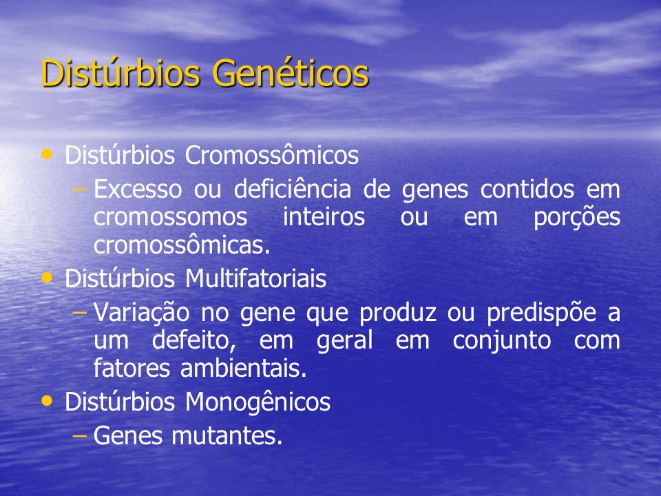 Distúrbios Genéticos Distúrbios Cromossômicos