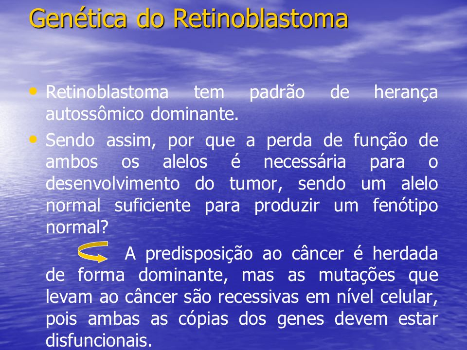 Genética do Retinoblastoma