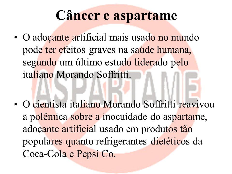 Câncer e aspartame