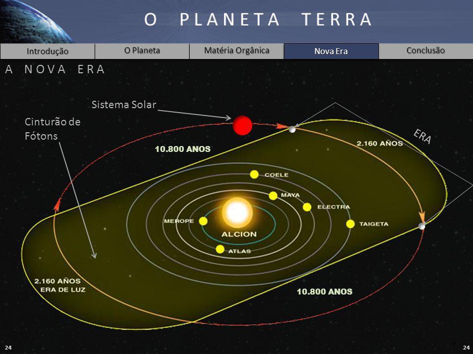 A N O V A E R A Sistema Solar Cinturão de Fótons ERA Nova Era