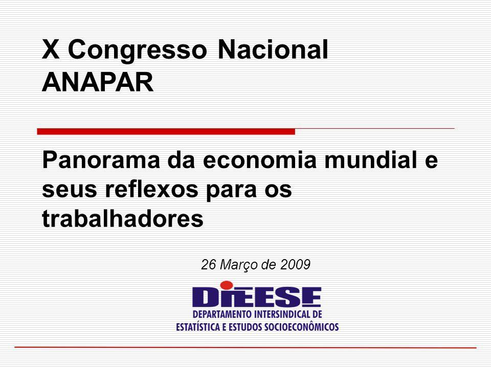 X Congresso Nacional ANAPAR