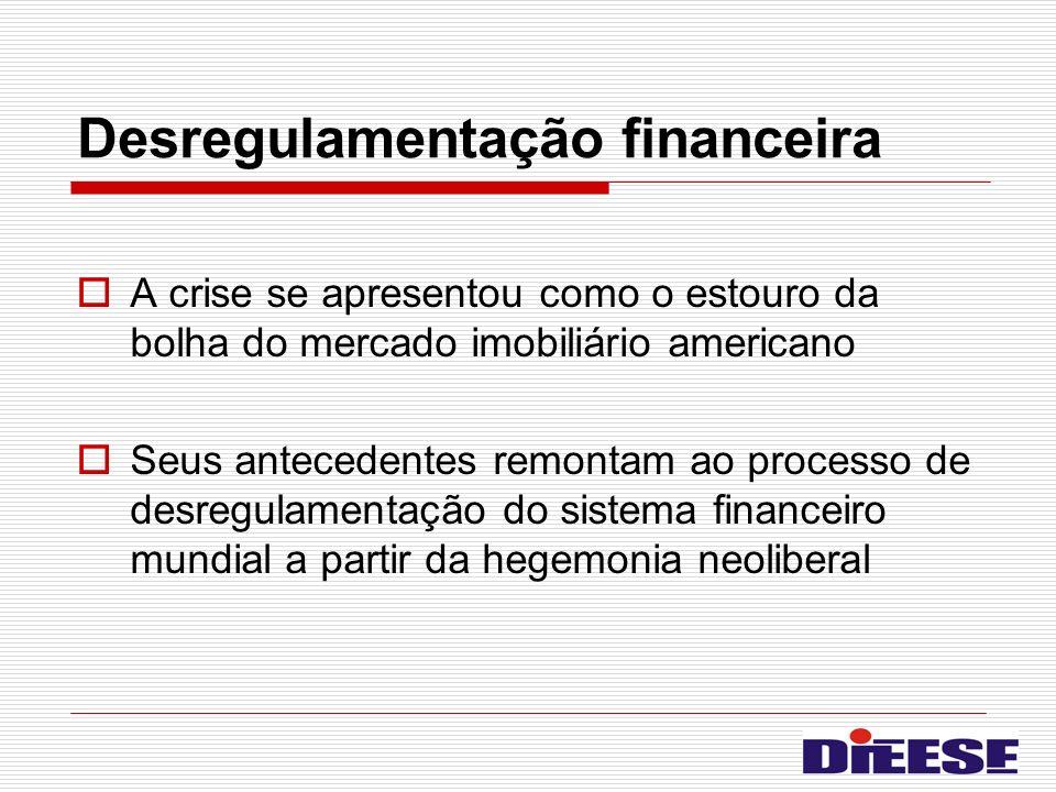 Desregulamentação financeira