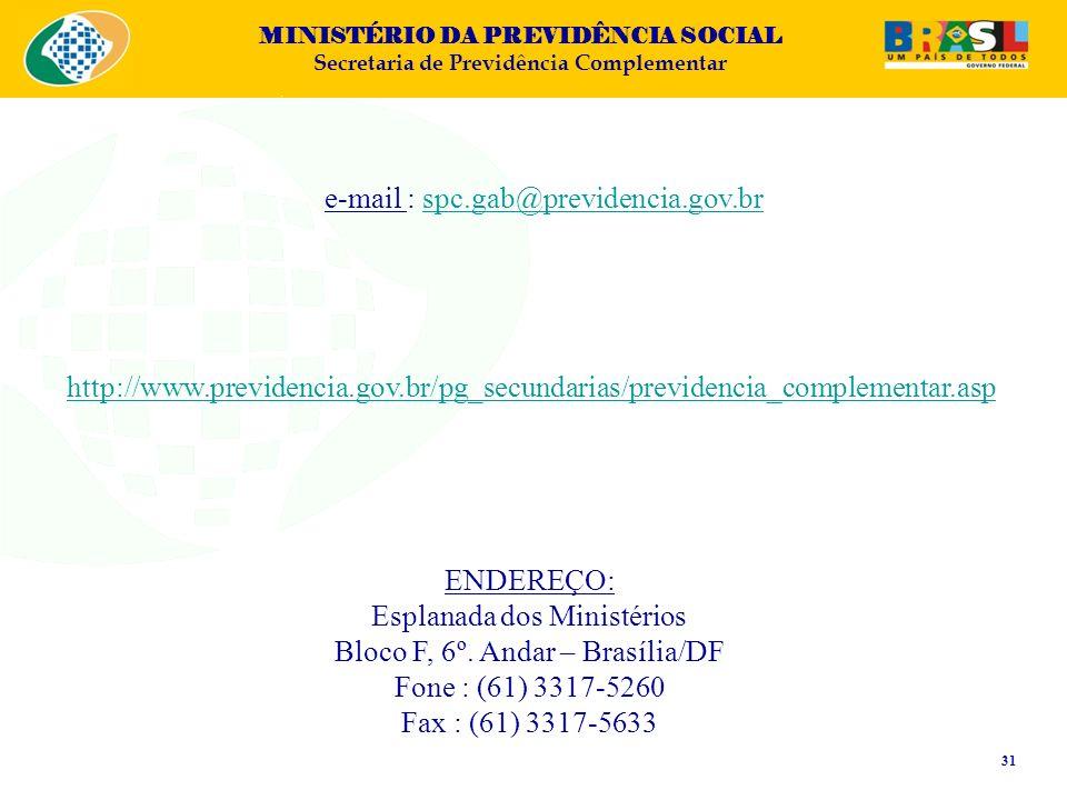 e-mail : spc.gab@previdencia.gov.br