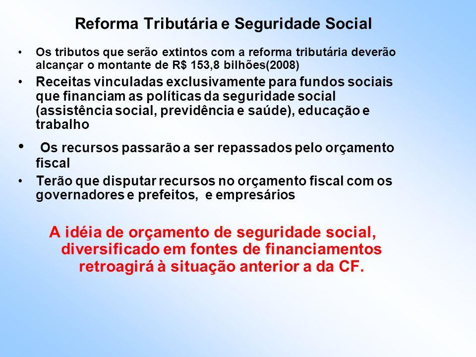 Reforma Tributária e Seguridade Social