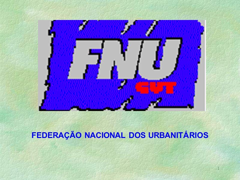 FEDERAÇÃO NACIONAL DOS URBANITÁRIOS