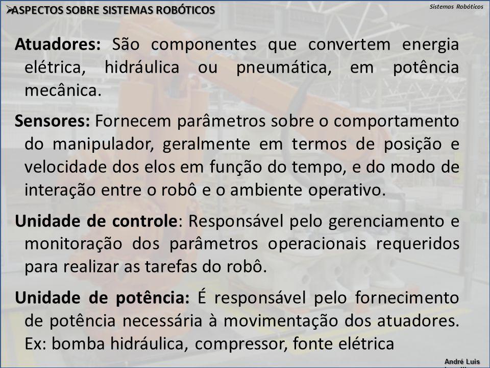 ASPECTOS SOBRE SISTEMAS ROBÓTICOS