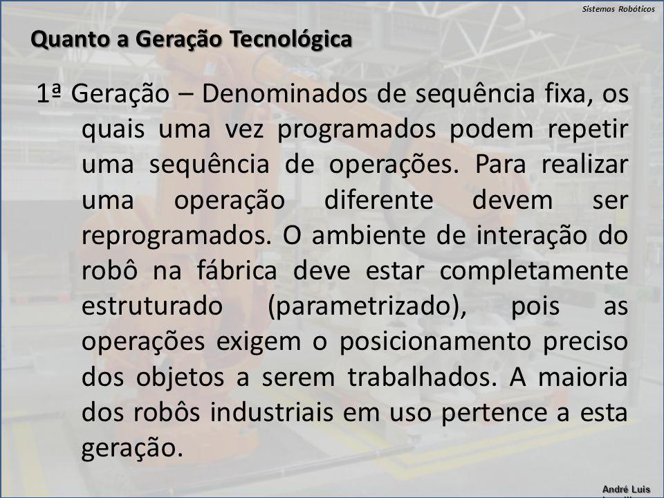 Quanto a Geração Tecnológica