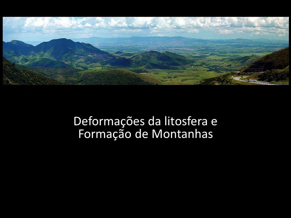 Deformações da litosfera e