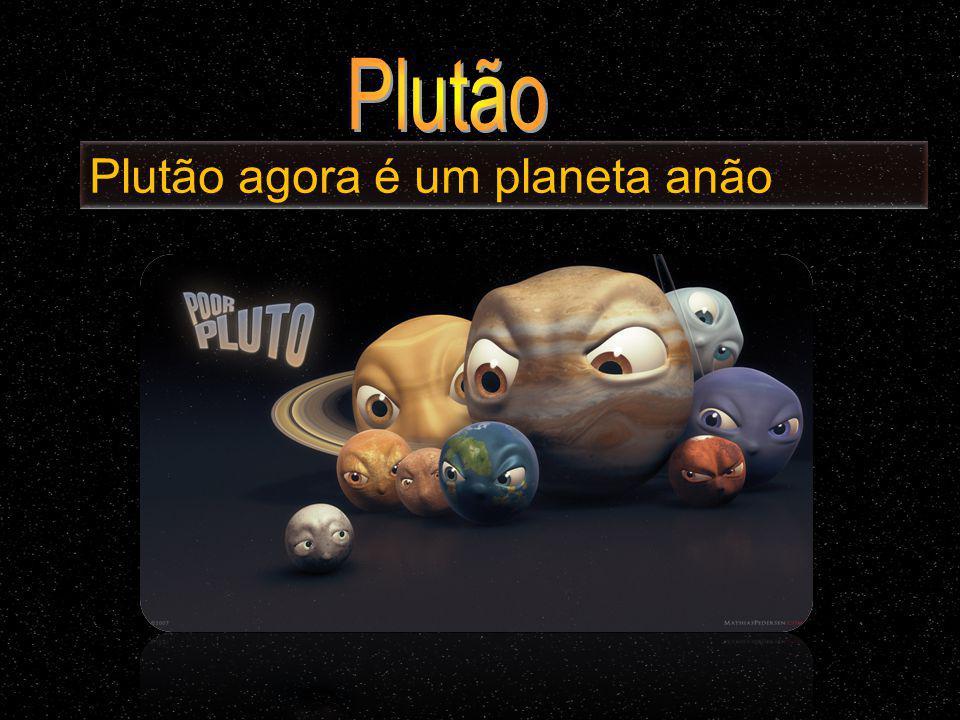 Plutão agora é um planeta anão