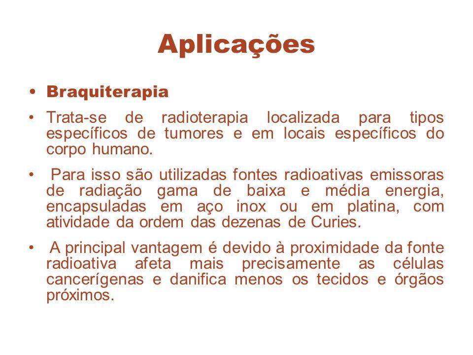 Aplicações Braquiterapia