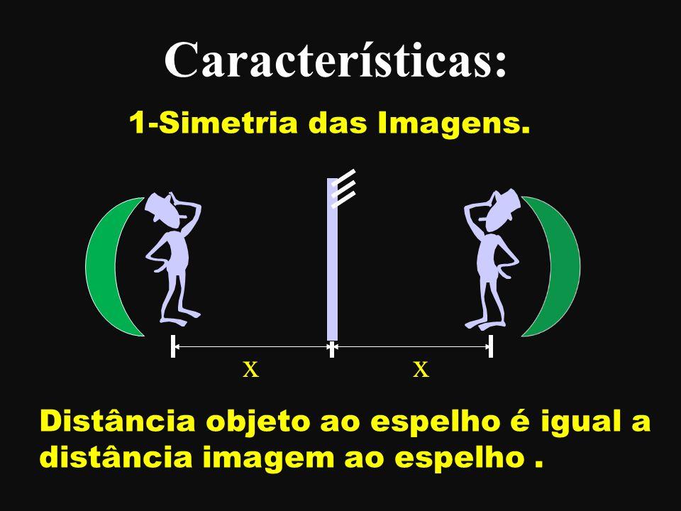 Características: x x 1-Simetria das Imagens.