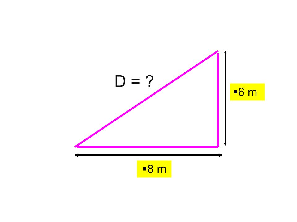 6 m D = 8 m