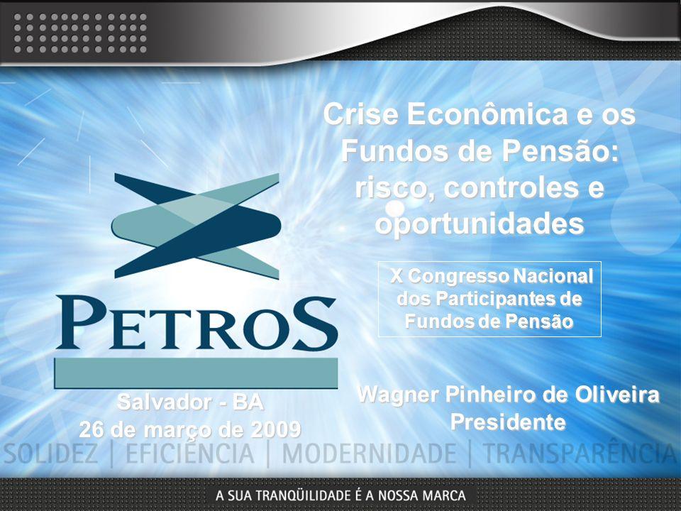 Crise Econômica e os Fundos de Pensão: risco, controles e oportunidades