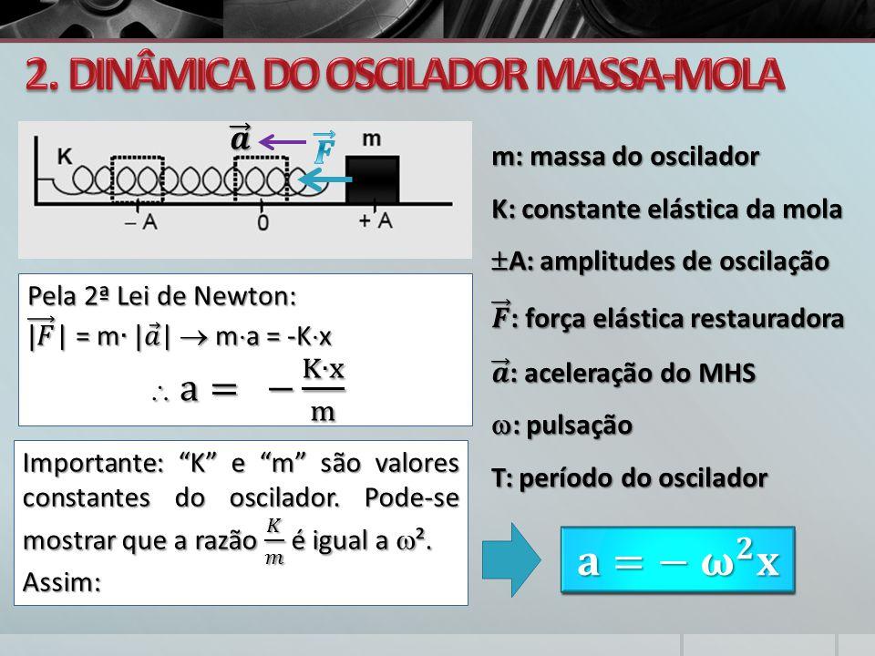 2. DINÂMICA DO OSCILADOR MASSA-MOLA