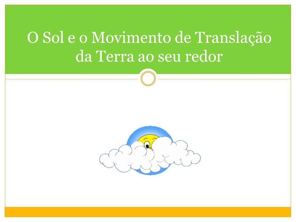 O Sol e o Movimento de Translação da Terra ao seu redor