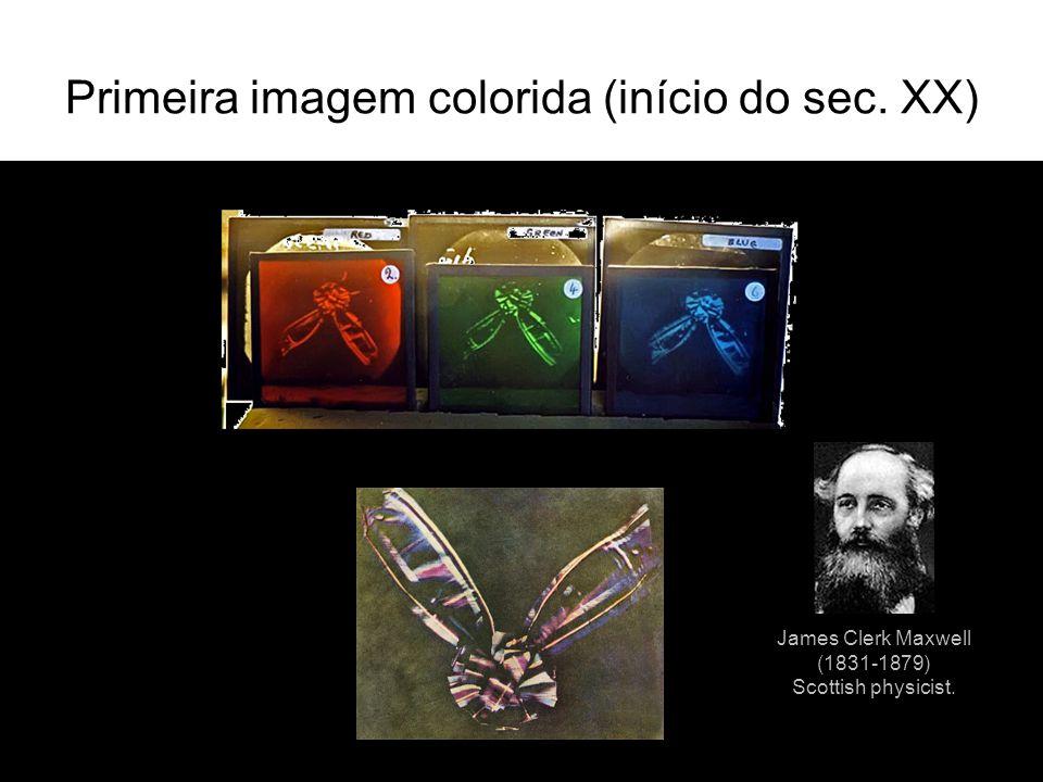 Primeira imagem colorida (início do sec. XX)