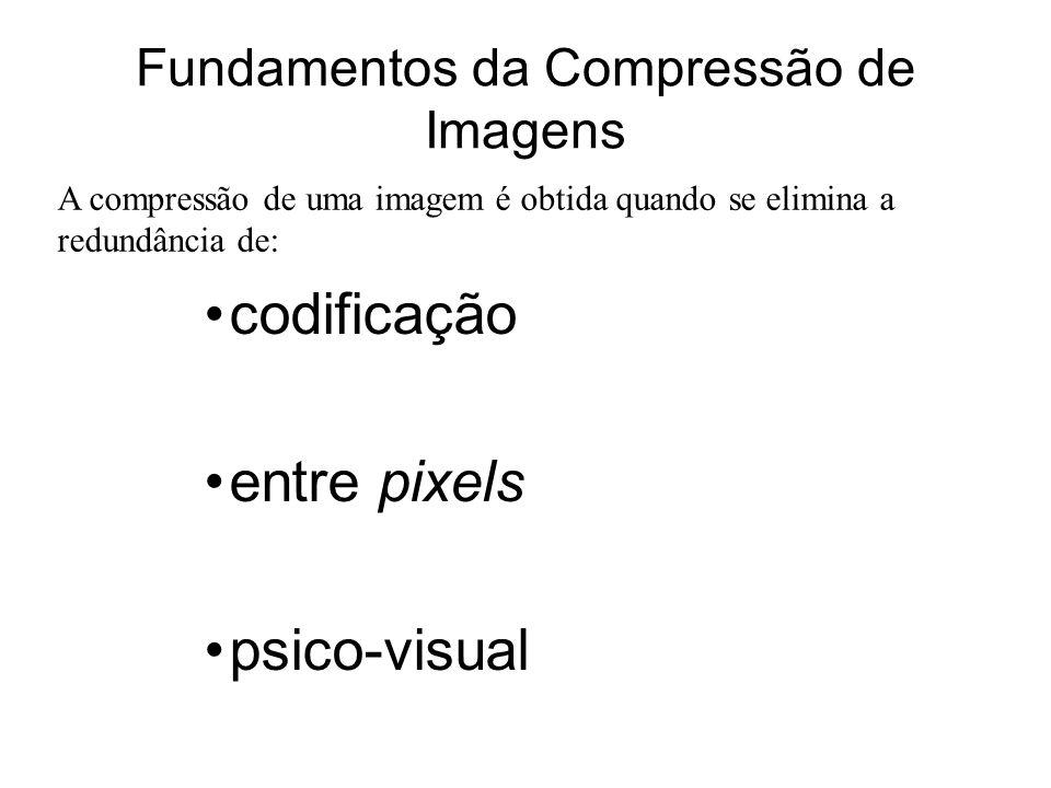 Fundamentos da Compressão de Imagens