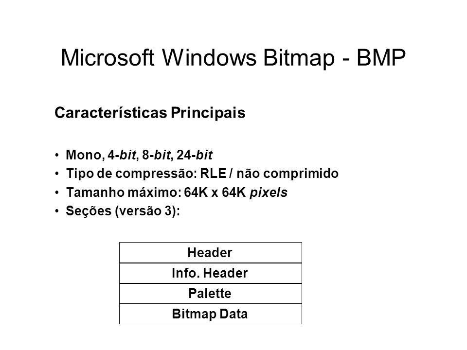 Microsoft Windows Bitmap - BMP