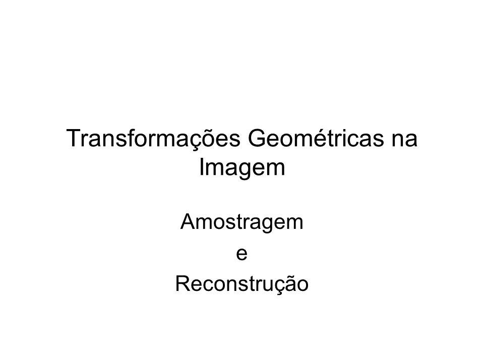 Transformações Geométricas na Imagem