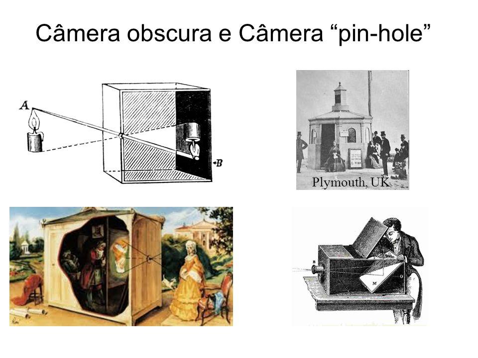 Câmera obscura e Câmera pin-hole