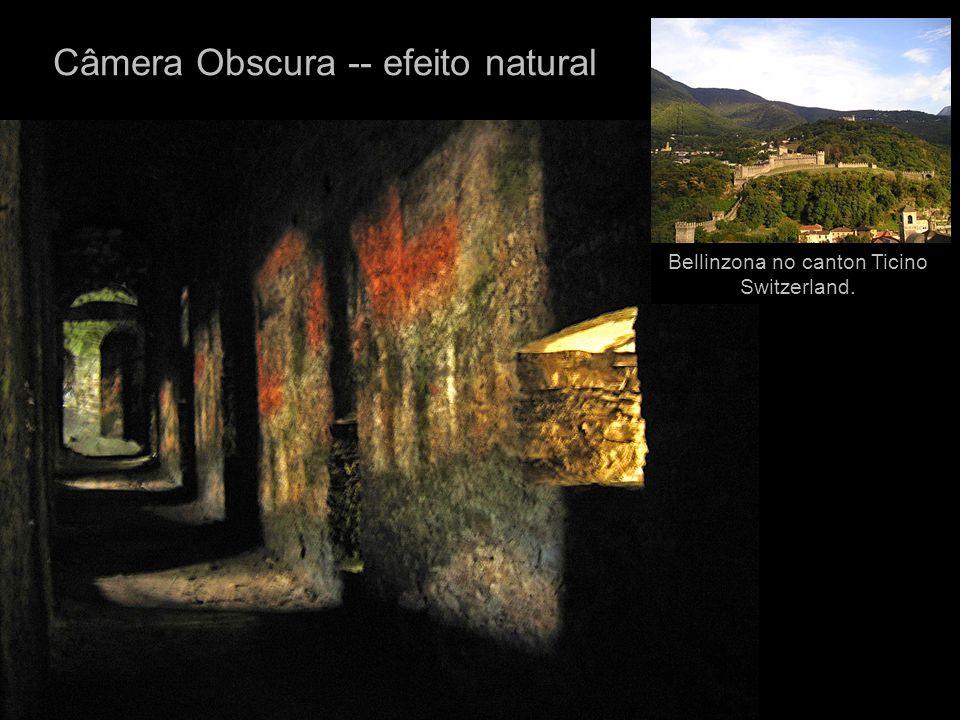 Câmera Obscura -- efeito natural