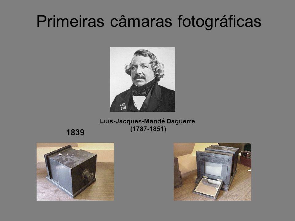Primeiras câmaras fotográficas