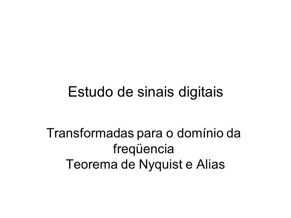Estudo de sinais digitais