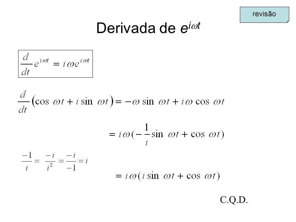 revisão Derivada de eit C.Q.D.