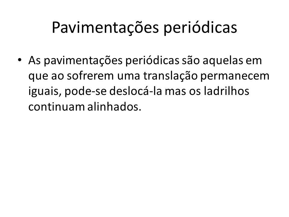 Pavimentações periódicas