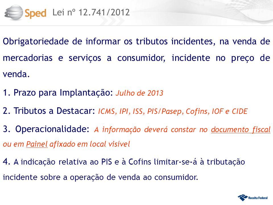 Lei nº 12.741/2012