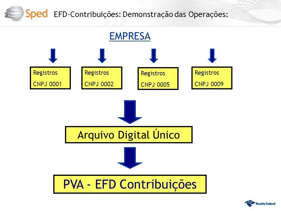 PVA - EFD Contribuições