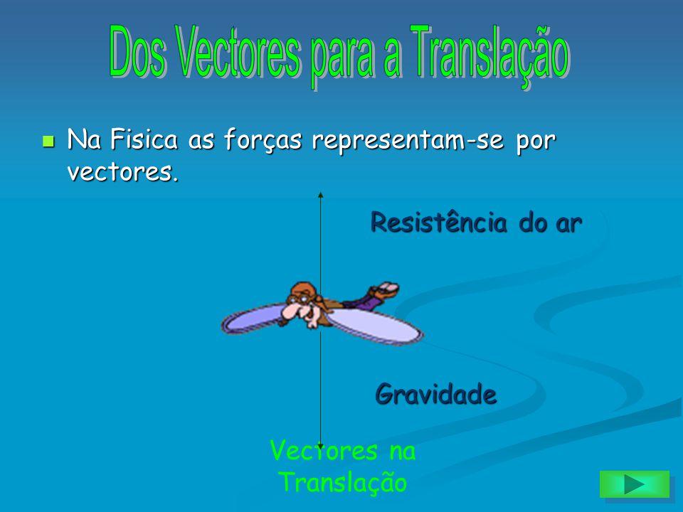 Dos Vectores para a Translação
