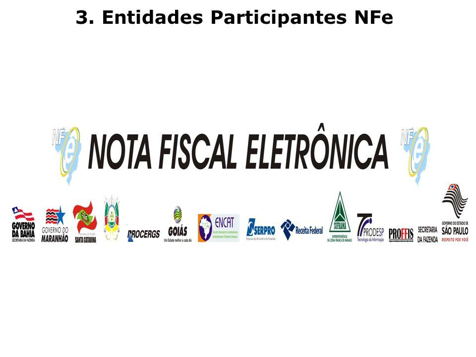 3. Entidades Participantes NFe