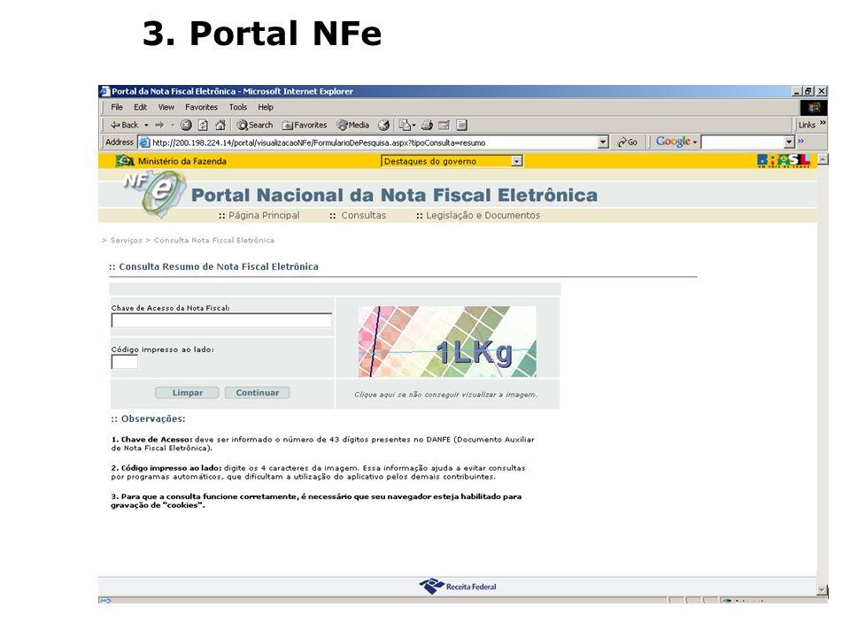 3. Portal NFe