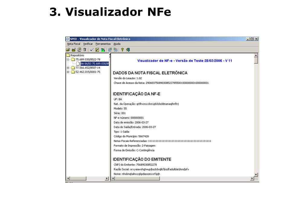 3. Visualizador NFe