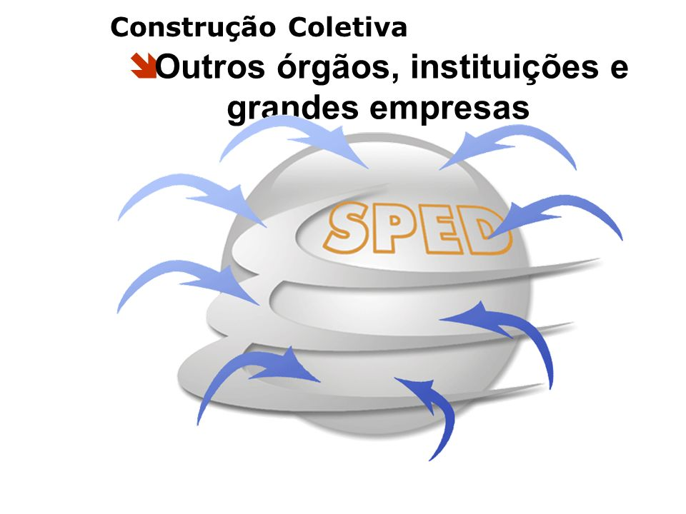 Outros órgãos, instituições e grandes empresas