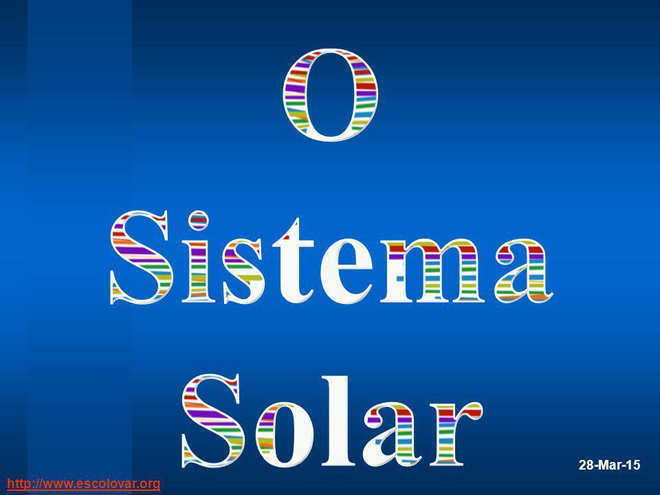 O Sistema Solar 8-abr-17