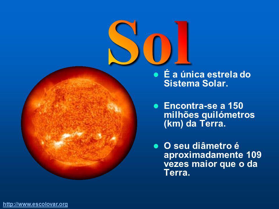 Sol É a única estrela do Sistema Solar.