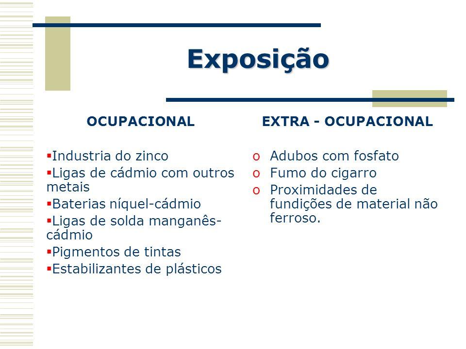Exposição OCUPACIONAL Industria do zinco