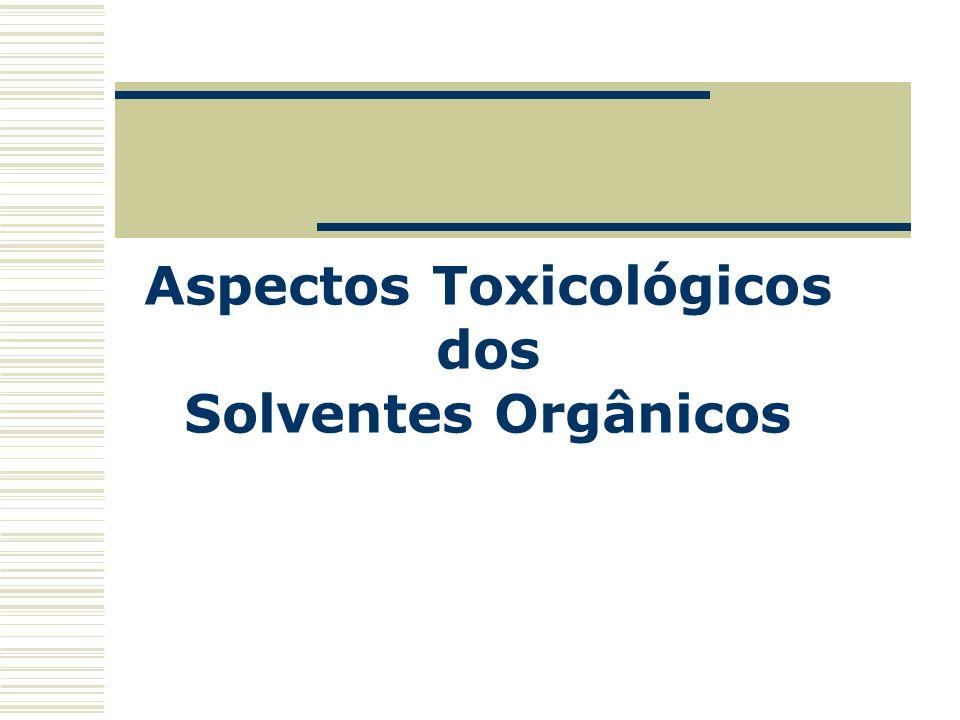 Aspectos Toxicológicos dos