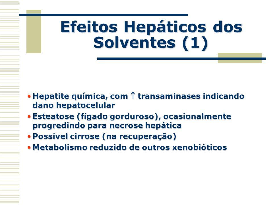 Efeitos Hepáticos dos Solventes (1)