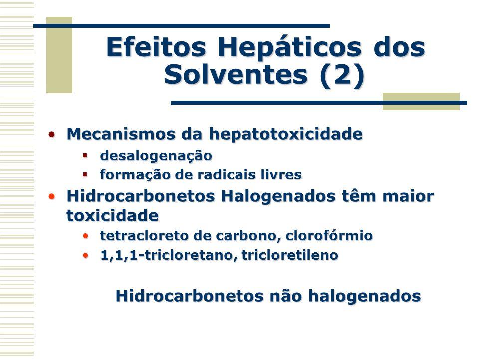 Efeitos Hepáticos dos Solventes (2)