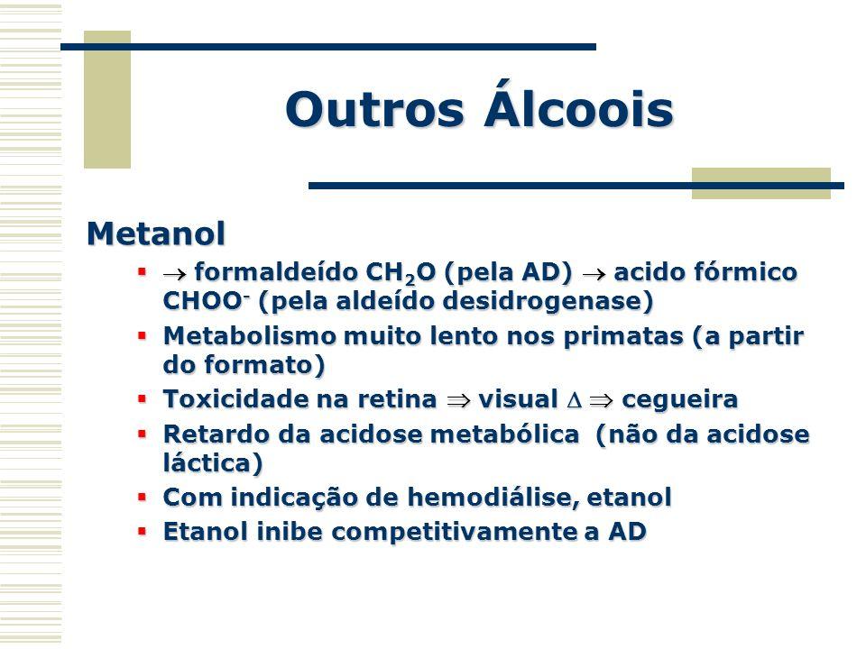 Outros Álcoois Metanol