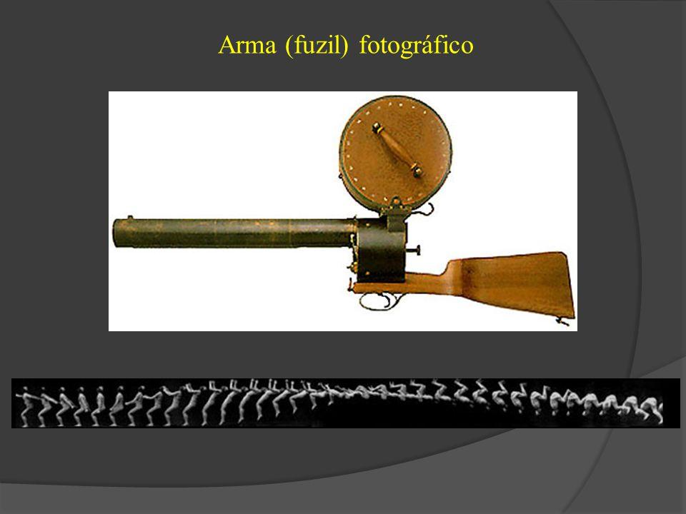 Arma (fuzil) fotográfico