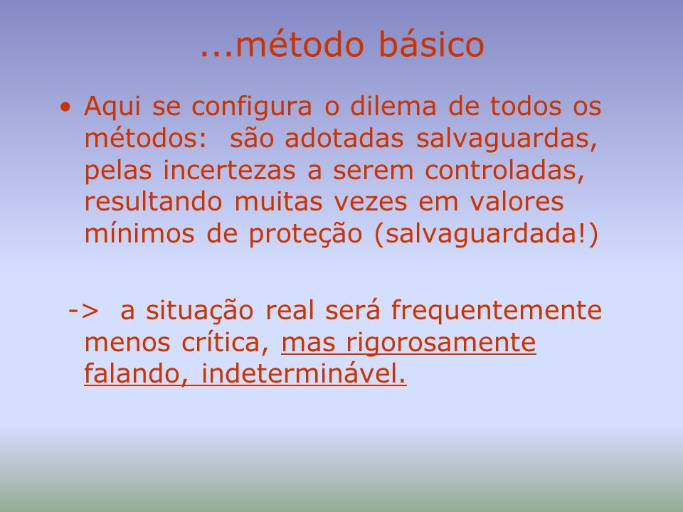 ...método básico