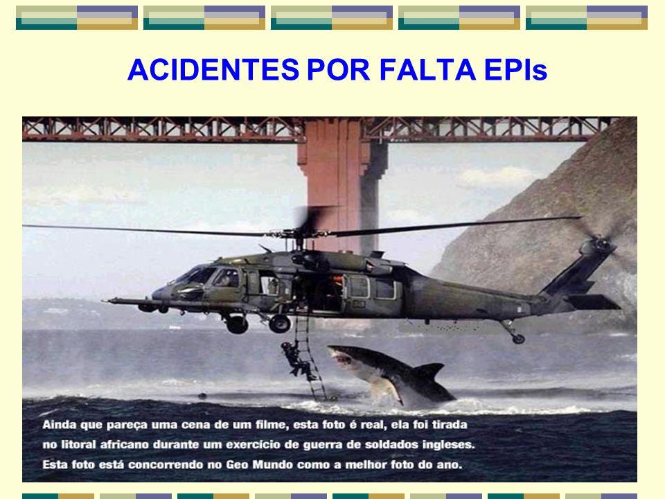 ACIDENTES POR FALTA EPIs