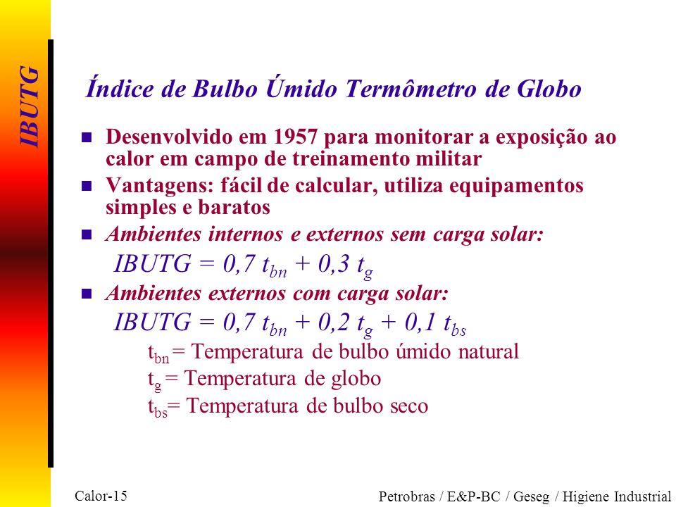 Índice de Bulbo Úmido Termômetro de Globo