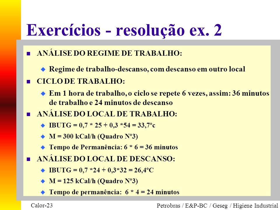 Exercícios - resolução ex. 2